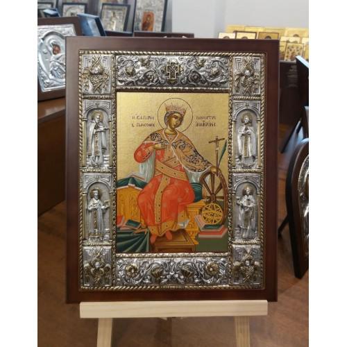 Αγία Αικατερίνη εικόνα βυζαντινή