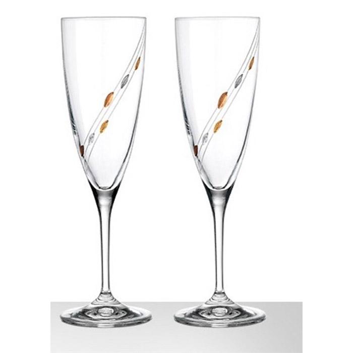 Ποτήρια σαμπάνιας 2 τμχ για γάμο