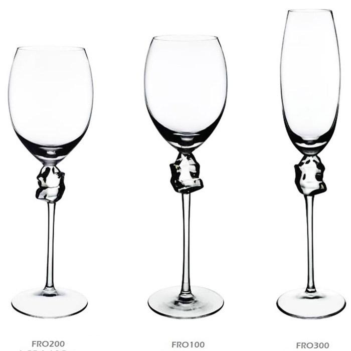 Ποτήρια κρυστάλλινα κρασίου & σαμπάνιας