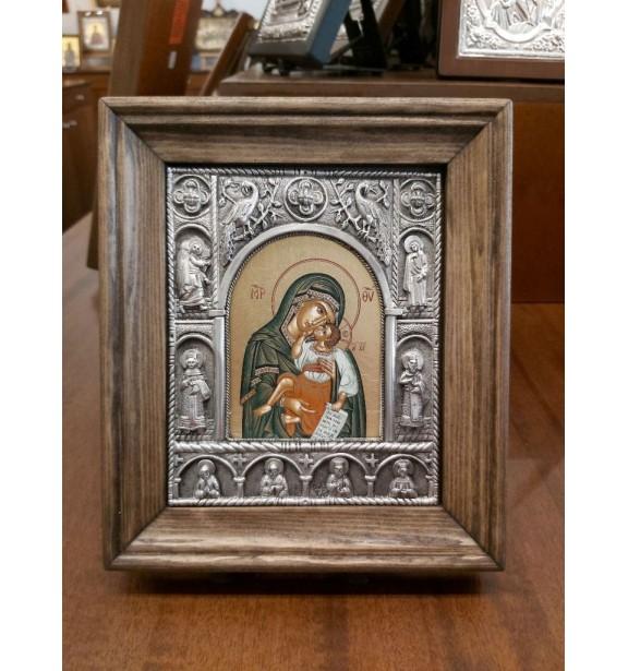 Εικόνισμα Παναγία Γλυκοφιλούσα Βυζαντινή
