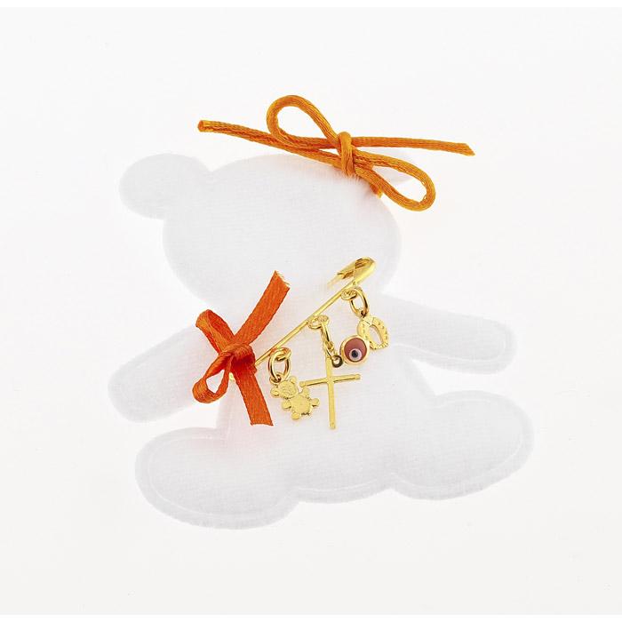 Παραμάνα φυλαχτό δώρο για νεογέννητο κοριτσάκι