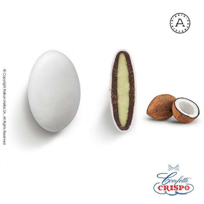 Κουφέτα καρυδα Ιταλίας Crispo Chocopassion