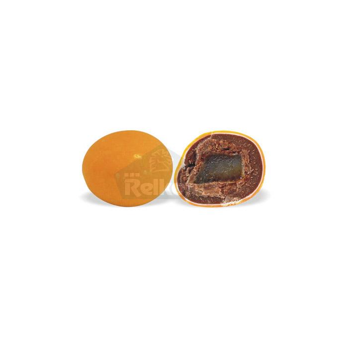 Dragee κουφετα με σοκολάτα και φλούδα πορτοκάλι