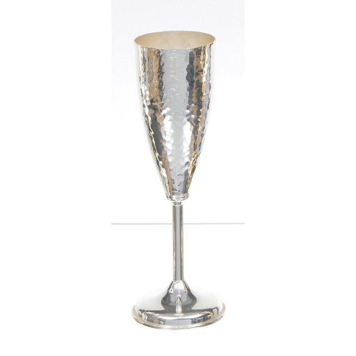 Επάργυρα ποτήρια σαμπάνιας για γάμο