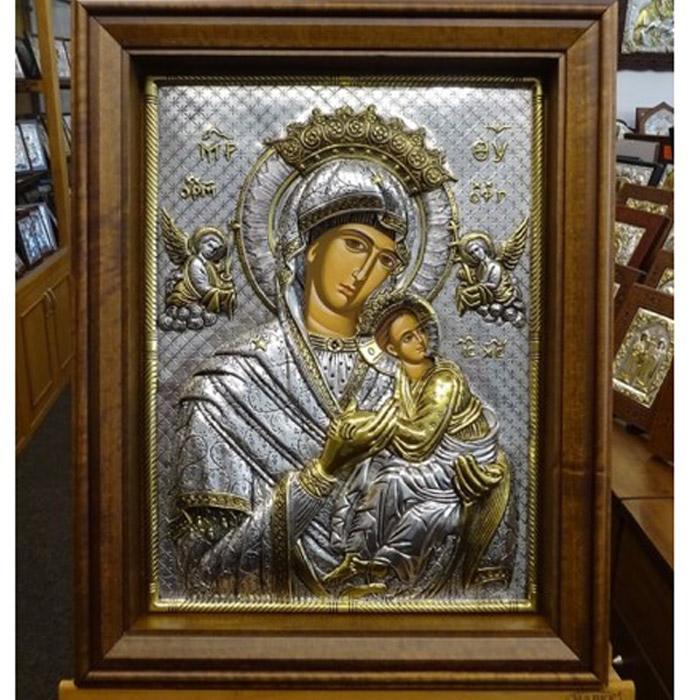 Παναγία Αμόλυντος βυζαντινή εικόνα