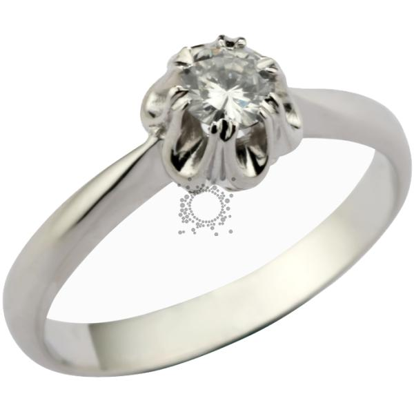 Μονόπετρο με διαμάντι κόσμημα γάμου