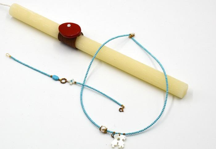 Κοσμήματα με δώρο την λαμπάδα για το Πάσχα