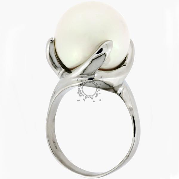 Μαργαριτάρια δαχτυλίδια ασημένια