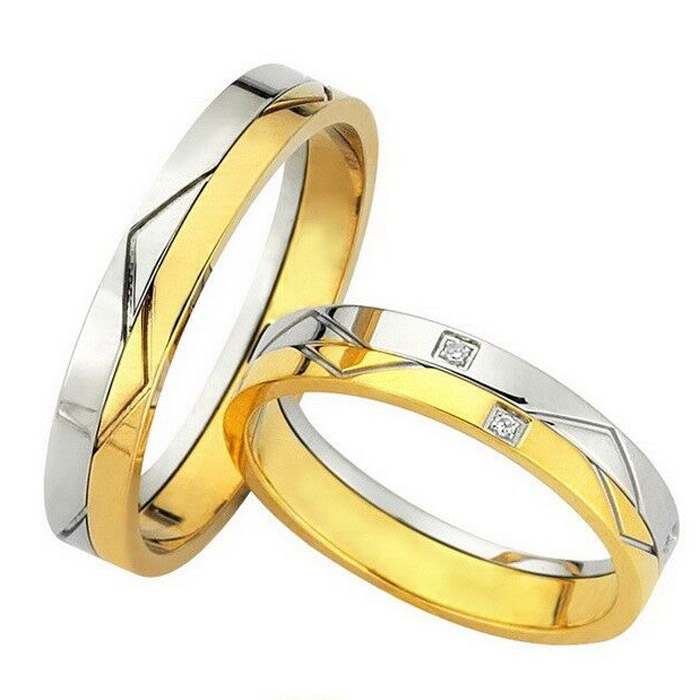 Χειροποίητες βέρες δίχρωμες γάμου σε νέα σχέδια