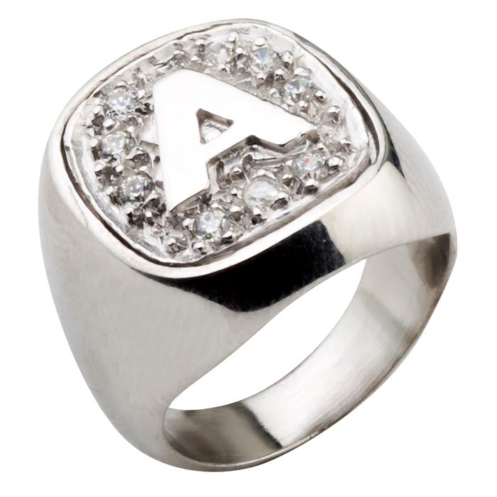 Σεβαλιέ δαχτυλίδι μονόγραμμα