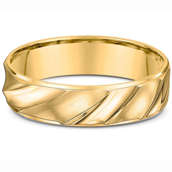 Χρυσές βέρες γάμου με ιδιαίτερο design