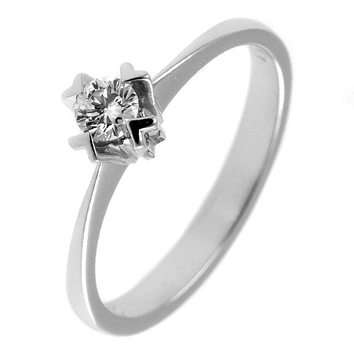 Μονόπετρο δαχτυλίδι διαμάντι