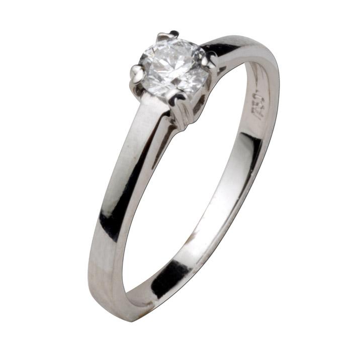 Μονόπετρο διαμάντι δαχτυλίδι λόγου