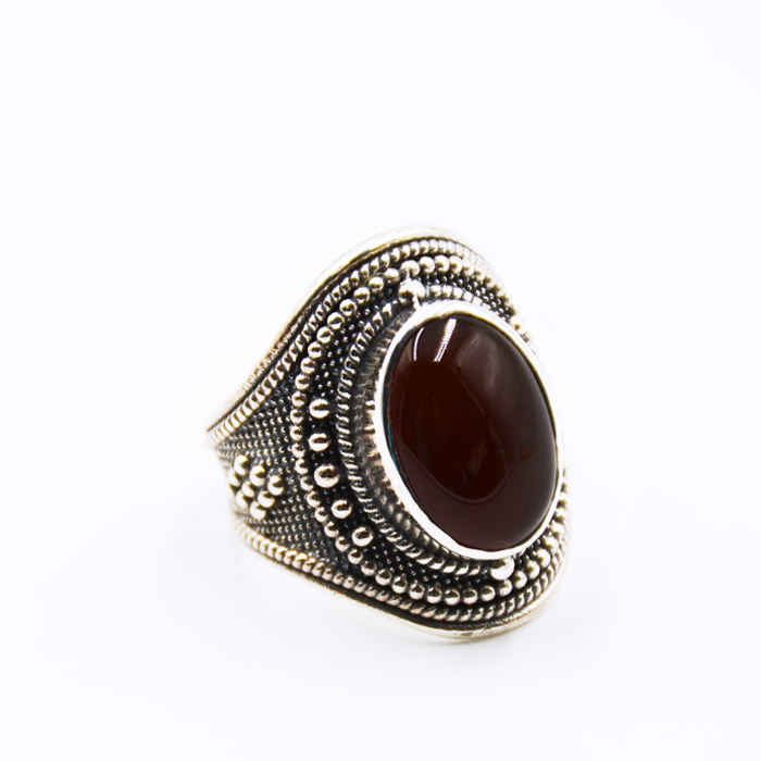 Ασημένιο βυζαντινό δαχτυλίδι κόσμημα