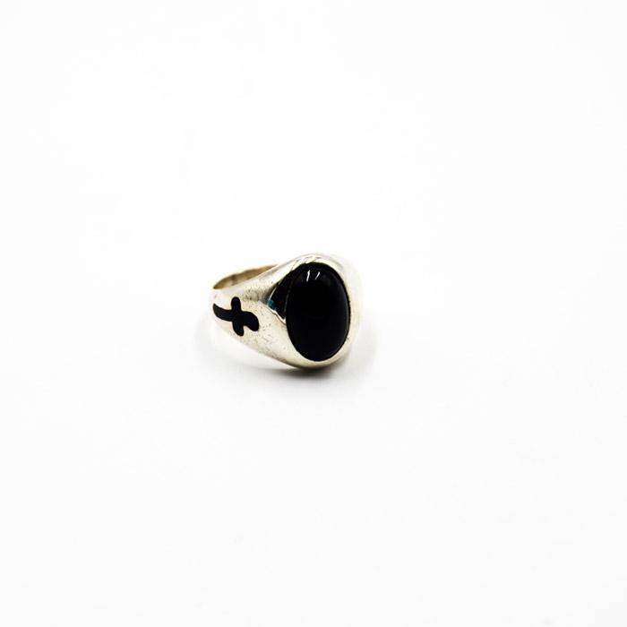 Χειροποίητο δαχτυλίδι ασημένιο ανδρικό με σχέδιο