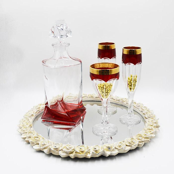 Φλωρεντιανό σετ γάμου για δώρο κουμπάρου