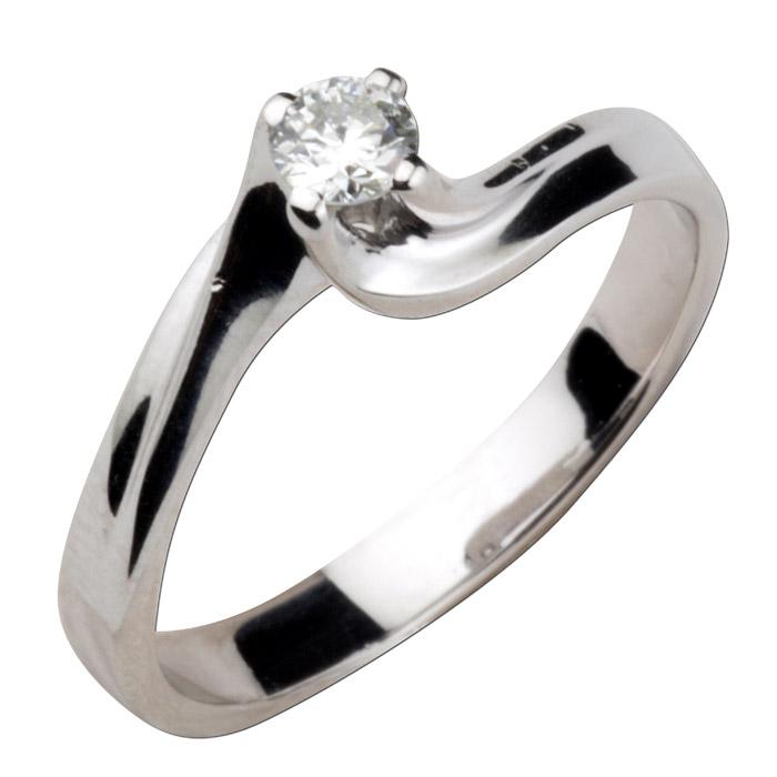 Φλόγα μονόπετρο δαχτυλίδι