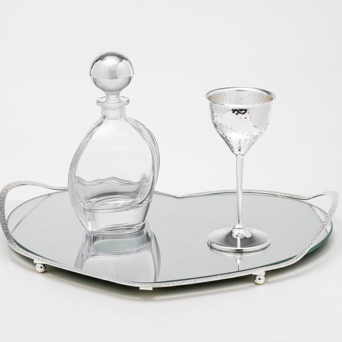 Σετ καράφα ποτήρι ιδανικό δώρο κουμπάρου