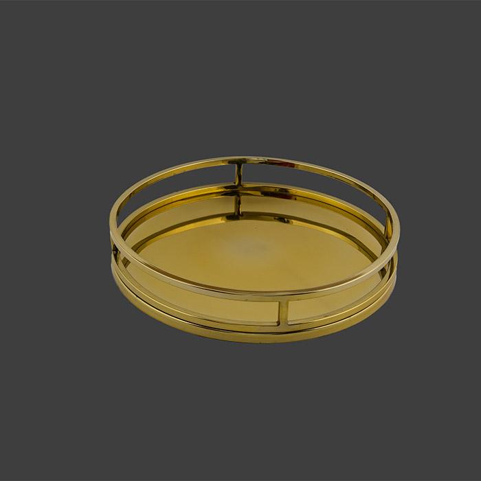 Χρυσός δίσκος γάμου μεταλλικός