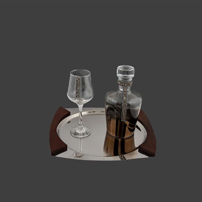 Νέα σετ καράφα ποτήρι κρασιού για γάμο