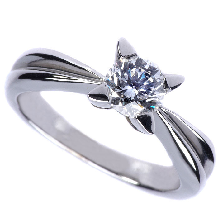 Μονόπετρο δαχτυλίδι μπριγιάν
