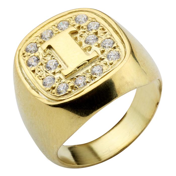 Σεβαλιέ δαχτυλίδι ασημένιο με zircons swarovski