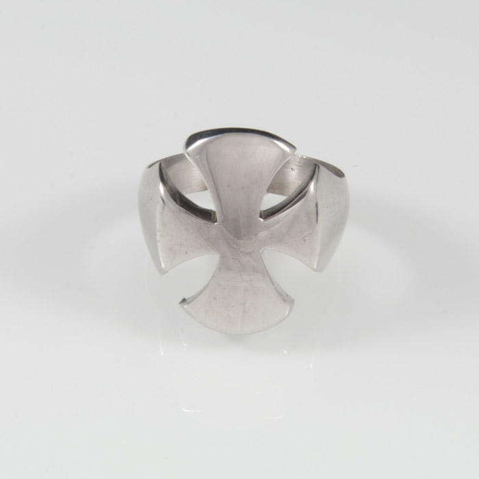 Ασημένιο δαχτυλίδι ανδρικό στο χρώμα που θα επιλέξεται