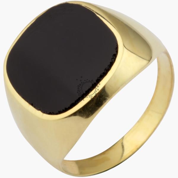 Ανδρικό δαχτυλίδι ασημένιο στο χρώμα που θα επιλέξεται