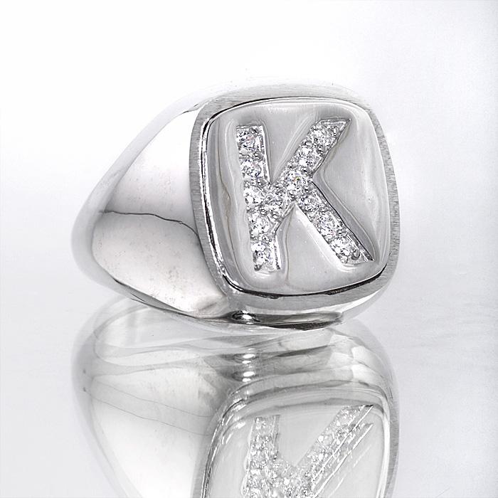 Σεβαλιέ δαχτυλίδι ασημένιο zircons swarovski
