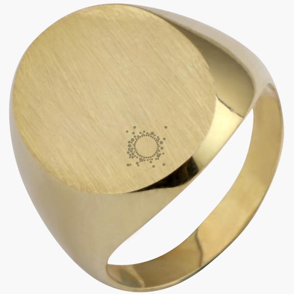 Ανδρικό δαχτυλίδι ασημένιο