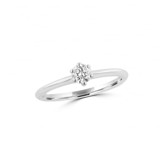 Μονόπετρo δαχτυλίδι μπριγιάν