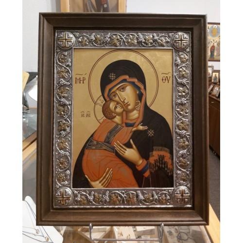 Παναγία Γλυκοφιλούσα βυζαντινή εικόνα
