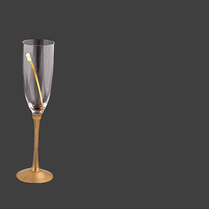 Ποτήρια σαμπάνιας γάμου - shopping online eshop stefana-gamou.gr